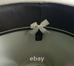 Stetson 4X XXXX Beige Beaver Felt Men's Cowboy Western Hat Size 7 3/8 with Box