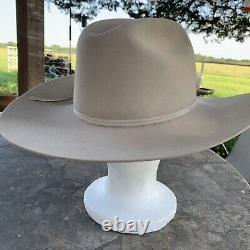 Stetson 5X Beaver Cowboy Hat Ranch Tan Size 7 1/4 R