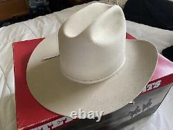 Stetson 7 1/4 rancher silver belly 4X