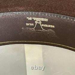 Stetson Cordova 4x Beaver wide Brim Tall Cowboy Western Hat, Size 7 1/4