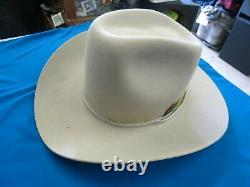 Stetson Cowboy Hat 4X Beaver XXXX 57/ 7 1/8