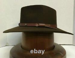 Stetson Cowboy Hat 5X Beaver Fur Felt Catera Mink Free Hat BrushCleaner+Shipping