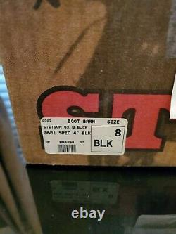Stetson Cowboy Hat 6X Beaver Fur Black Size 8 Boot Barn