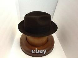 Stetson Cowboy Hat Beaver Fur CORDOVA SAXON free Brush