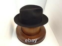 Stetson Cowboy Hat Beaver Fur GRANITE SAXON free Brush