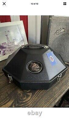 Stetson HAT 500X SIZE 7 1/8 EL AMO 500X Black Beaver Chinchilla Cowboy CASE