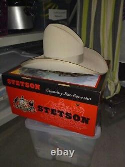 Stetson Legendary 4x Beaver Tom MIX Cowboy Western Hat 7 1/8