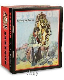 Stetson Men's 6X Open Road Fur Felt Cowboy Hat SFOPRD-052661 Silver Belly