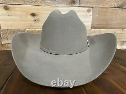 Stetson Mens Cowboy Hat Skyline Sahara 6X Beaver Fur Felt Size 7-1/8