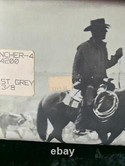 Stetson Rancher 4 Mist Grey 7x Original Box 7 3/8 EUC