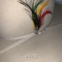 Stetson Rancher Cowboy Hat Mens Color S Belly 4X Beaver Fur, 3 1/2 Brim Size 7