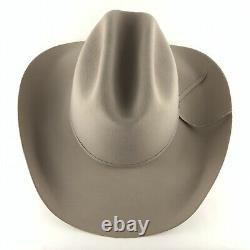 Stetson Rancher Silverbelly 4X Beaver Size 7 5/8 Felt Western Hat with Box