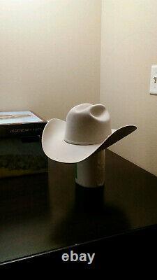 Stetson Skyline 6X 7 3/8 Silverbelly cowboy hat