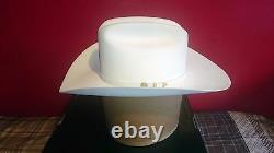 Stetson Western Wear Cowboy 100x White El Presidente Beaver & Cashmere Hat