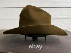 Texas Rancher Vintage Antique Old West Cowboy Hat 7 1/8 John Wayne Gus Western