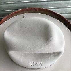 VINTAGE RESISTOL HATS 3-X BEAVER WESTERN COWBOY HAT SIZE 7 ORIG BOX self-Conform