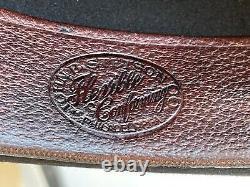 Vintage Antique Stetson 1900s Fedora Beaver Felt Bowler Cowboy Hat 7 1/8 SASS
