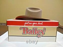 Vintage Bailey Legacy Western Hat 100X Beaver 7/14 with Original Box