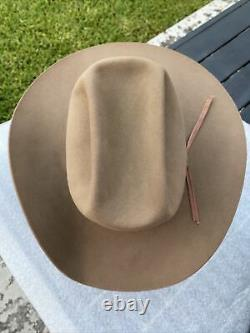Vintage Late 60s early 70s FT. WORTH Resistol 3X Beaver Cattleman 7-1/2 L. O
