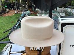 Vintage NEW Stetson 1970s Stetson Open Road 4X Beaver Taupe 7+ With Box