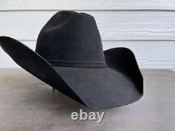 Vintage Resistol 20X Beaver Felt Jim Shoulders Bull Rider Rodeo Cowboy Hat 7 1/8