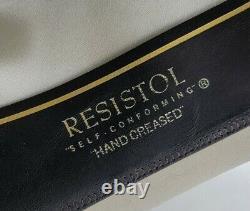 Vintage Resistol Self-Conforming 7X Beaver Hat Size 7 CattleKing Mist -Long Oval