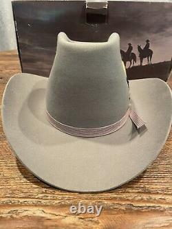 Vintage STETSON 4X BEAVER Rancher 7 Great Condition! WithBox