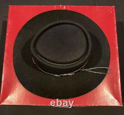 Vintage STETSON 5X Beaver Black Western Cowboy Hat Australia