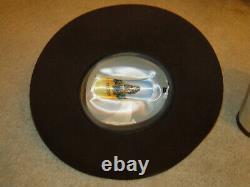 Vintage STETSON Brown Fedora Hat Cowboy Western Hat Beaver XXXX Sz 7 1/2