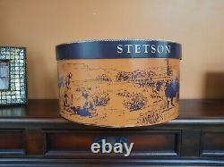 Vintage Stetson 4x Beaver With Original Box, Excellent Condition