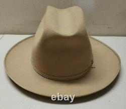 Vintage Stetson 6 7/8 Open Road 3x Beaver Quality Fedora Cowboy Jas K Wilson Hat