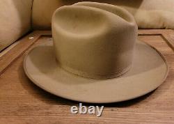 Vintage Stetson Hats the Open Road 4x Beaver 6 5/8 Fedora western Cowboy hat