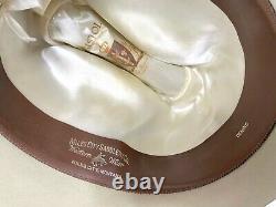 Vtg 1960s RESISTOL Western Hat 7 1/4 Cowboy OPEN ROAD fedora Ranch Wear work 60s