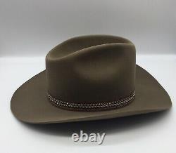 Vtg 1981 STETSON 3X Beaver Winchester Limited Ed XXX Cowboy Hat 7 1/8 Never Worn
