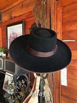Western hat by Greeley Hat Works Buckaroo Style
